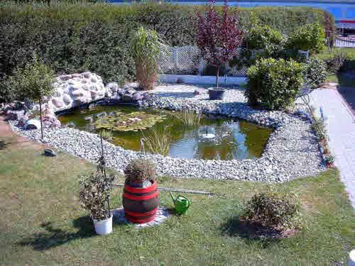 Teich bauen - Kleine gartenteiche gestalten ...